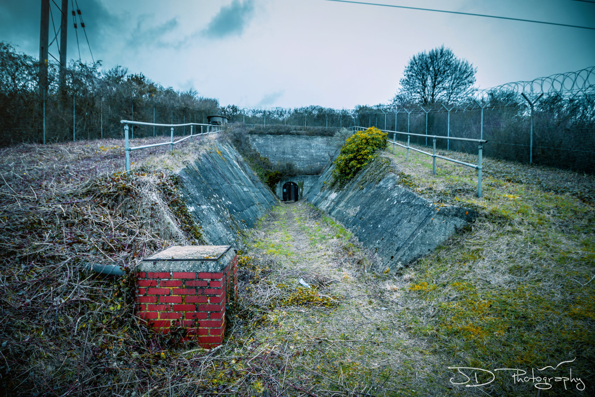 Portsmouth Fuel Bunker Abandoned WW2