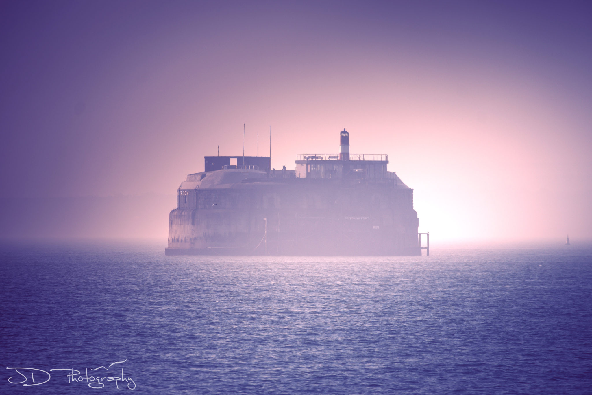 Foggy Sea Fort
